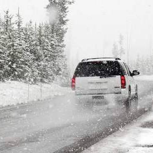 Controllo invernale dell'auto