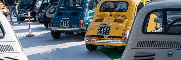 Targhe Fiat 500