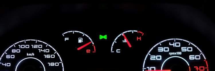 Pannello controllo auto
